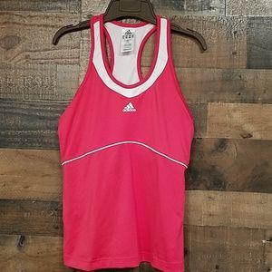 Adidas racerback workout tank top Size L